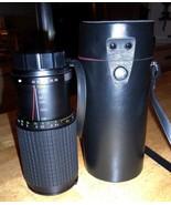 Quantaray 80-200mm Auto Zoom 1:38 Macro Telephoto Camera Lens & Case - $19.78
