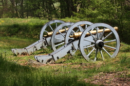 Cannons In Valley Forge National Park 13 x 19 Unmatted Photograph - $35.00