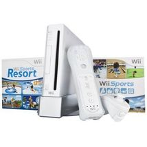 Brand New Nintendo Wii Sports Resort Pack White Console (NTSC) - $542.81