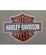 Embossed Metal Harley Davidson Bar & Shield Emblem Sign Bonus gift - $97.90