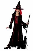 xcg111 Renaissance DEVIL WITCH Halloween Costume Medium 8-10 - $26.13
