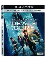 Maze Runner: The Death Cure (4K Ultra HD+Blu-ray+Digital, 2018)