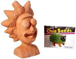 Chia Pet Rick Decorate Planter, Rick & Morty - $20.00