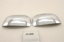 New Oem Mitsubishi Outlander 07-13 Door Mirror Cover Kit Chrome Pair MZ569716EX - $49.50