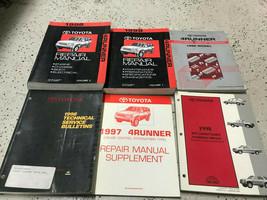1998 Toyota 4RUNNER 4 RUNNER Service Shop Repair Manual Set W EWD & TSB 98 - $242.50