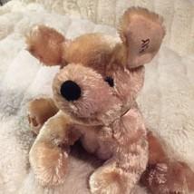 "Snuggle Toy Brown  Puppy Dog Plush STUFFED 10"" ... - $12.86"