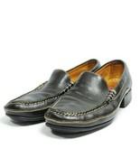 "Cole Haan Slip On Loafers Women's Sz 8 AA Black Leather Uppers 1"" Heel (tu6ep) - $28.97"