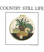 Country Appliques COUNTRY STILL LIFE Design for Machine or Hand Applique - $4.84