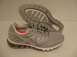 ASICS Mujer gel quantum 180 2 Gris Medio Blanco Plata Running Zapatos Talla 9 US - $156.48
