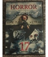 Horror Collection Come Play with Us 17 Movies (DVD, 4-Disc, Puppet Master) NEW - $9.99