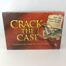 Vintage Crack The Case Board Game Mini Mysteries 1993 Milton Bradley Com... - $14.84