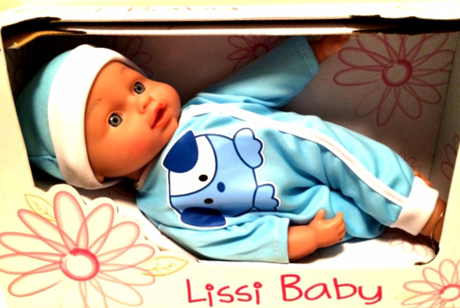 Lissi My First Baby Doll Boy Blue Outfit German 10 inches Age 2 and Up