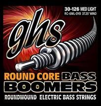 GHS Strings GHS Round Core Bass Boomers, 6-String Set, Medium Light Gaug... - $41.35