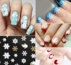 Snowflake Design Nail Sticker Manicure Decor Tools(SN-103) image 4