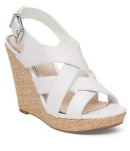Jessica Simpson Jamallo Wedges, Sizes 6.5-10 Powder Sleek JS-Jamallo White - $69.95
