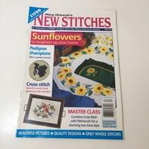 Mary Hickmott's New Stitches Magazine #63 Sunflowers Dog Exotic Birds - $12.59