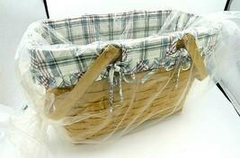 "Longaberger Handwoven Wicker Basket - New in Packaging - from 1997 16"" x... - $139.95"