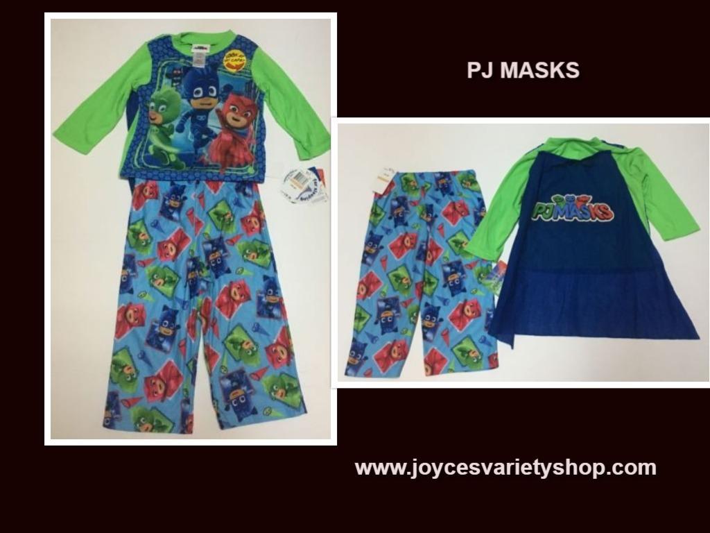 Pj masks pajamas web collage