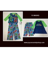 PJ Masks Boy Toddler's Two Piece Pajamas with Cape NWT Sz 2T Top & Pants - $16.99