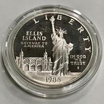 1986-S Statue of Liberty Commemorative Silver Proof Dollar ***NO BOX OR ... - $21.07