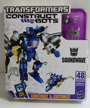 Transformers Construct Bots Elite Class E1 02  Soundwave Buildable Actio... - $34.99