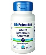 5 Bottles Life Extension AMPK Metabolic Activator Burn Fat cholesterol 3... - $98.99