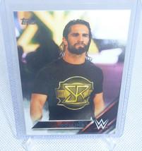 2016 Topps WWE RAW Wrestling Seth Rollins Card #142 - $5.93