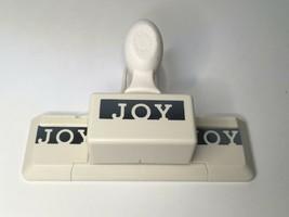 Martha Stewart Joy Border Punch Edger Christmas Holiday Crafts Card Maki... - $26.99