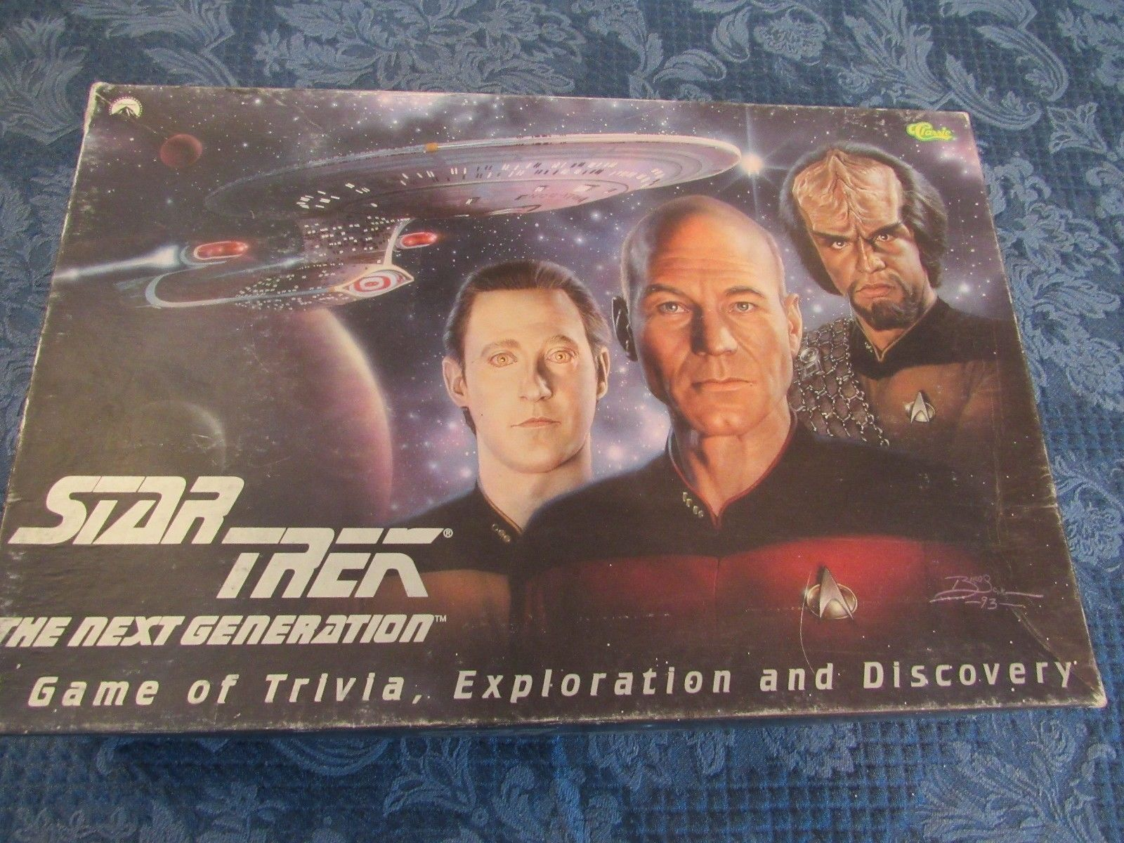 1993 Star Trek The Next Generation Trivia Board Game, Exploration & Discovery