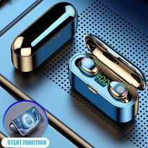 F9 TWS Bluetooth Headphone 5.0 Touch Control Wireless Headset LED Displa... - $10.49+