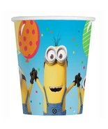 Despicable Me 3 Paper 9 oz Beverage Cups 8 Per Package Birthday Supplies... - $2.92
