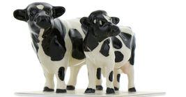 Hagen Renaker Miniature Holstein Bull and Cow Ceramic Figurine Set image 10