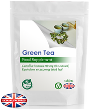 Green Tea Strong 3500mg - 60 Tablets (V) - Weight Loss, Diet, Cardio Sup... - $7.19