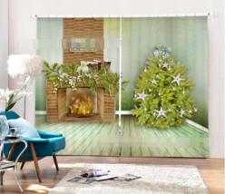 3D Fireplace 0121Blockout Photo Curtain Printing Curtain Drapes Fabric Window UK - $145.49+