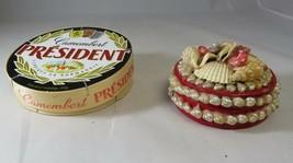 Historic Normandie beach Souvenir box shell shellfish curiosity ooak fre... - $25.00