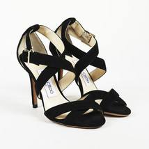 Jimmy Choo Suede Sandals SZ: 35 (EU) - $130.00