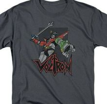 Voltron t-shirt Animated retro 80's TV series 100% cotton graphic tee DRM220 image 3