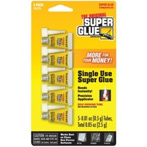 The Original SuperGlue 15175-12 Instant Adhesive Mini Tubes, 5 pk - $18.62