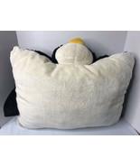 "My Pillow Pets Penguin Black & White 18"" Inches X 16""   Animal Plush Cute - $10.79"