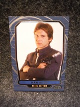 Star Wars Galactic Files Trading Card Topps 2012 # 124 Han Solo - $0.95