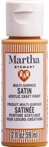 Martha Stewart Crafts Multi-Surface Satin Acrylic Paint, 2 oz, JACK-O-LANTERN - $9.89