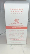 Crabtree & Evelyn Rosewater & Pink Peppercorn Hydrating Hand Therapy 3.4... - $17.81