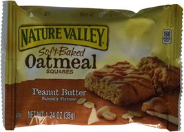 Nature Valley, Soft-Baked Oatmeal Squares, Peanut Butter, 7.44oz Box (Pa... - $18.99