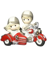 Precious Moments 152015 Forever by Your Side, Bisque Porcelain Figurine - $44.68