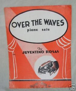 Primary image for Over the Waves Juventino Rosas Piano Solo