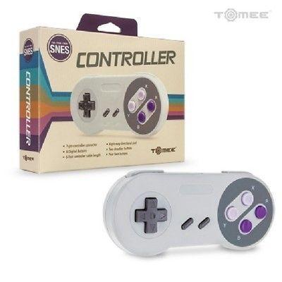 NEU in Box 16 Bit Controller für Super Nintendo SNES System Console Control Pad