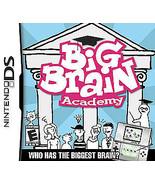 Big Brain Academy (Nintendo DS, 2006) cartridge only brain training - $0.94