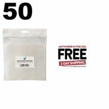 50 CheckOutStore Stamp & Die Clear Storage Pockets (6.25 x 6.25) **2 DAY... - $13.95