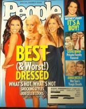 People Magazine Best & Worst Dressed Shocking Styles 308 Celeb Looks 2006 - $9.91