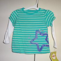 Circo Girls Infant Longsleeve Shirt  Size 9 Months NWT  Star - $6.10